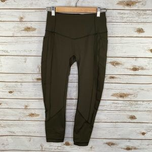 Lululemon All the right places crop legging